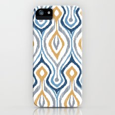 Sketchy Ikat - Saddle Slim Case iPhone (5, 5s)