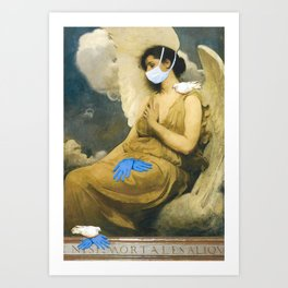 Sisters of Mercy Art Print