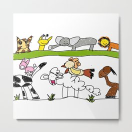 CuteAnimals Metal Print