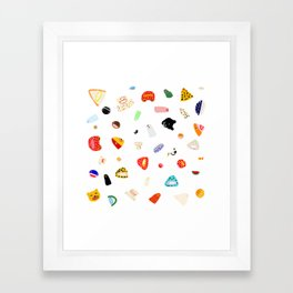 I got an idea Framed Art Print