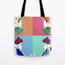 traditional pop art Tote Bag