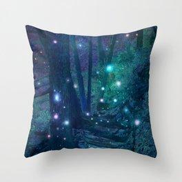 The Fairy Lights Throw Pillow
