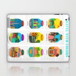 Travel with Colors Laptop & iPad Skin