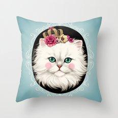 Cat Series I Throw Pillow