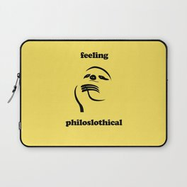 Feeling Philoslothical Laptop Sleeve
