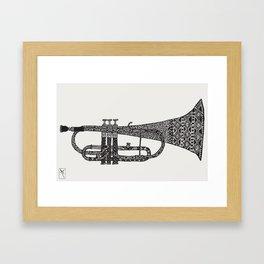 Chrump it. Framed Art Print