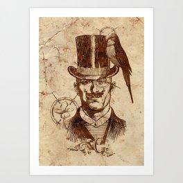 Extraordinary Gentleman Art Print