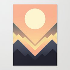 The Sun Rises Canvas Print