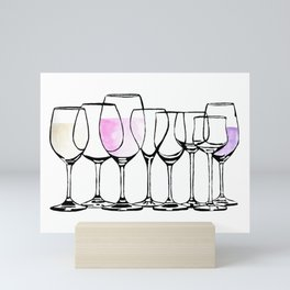 Vino Eight Mini Art Print