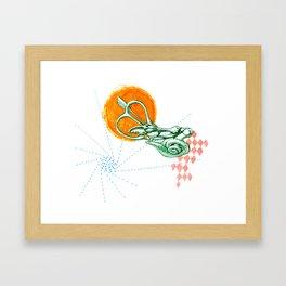 Ear Labyrinth Framed Art Print