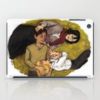 attack on titan iPad Cases featuring A Nap on Titan by crowry
