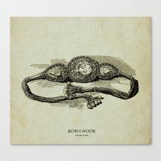 KOH-I-NOOR (mountian of light) Canvas Print