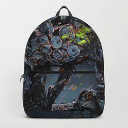 """Release the Kraken"" - Giant Octopus Digital Illustration Backpack"