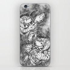Petite Astronauts  iPhone & iPod Skin