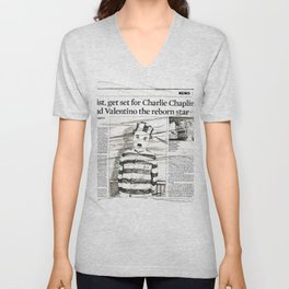 The Tramp Unisex V-Neck