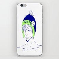 dmmd iPhone & iPod Skins featuring noiz by jean-huh-kirschnickerdoodle