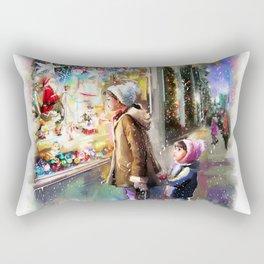 Christmas Greeting Card2 Rectangular Pillow