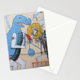 When Dinosaurs Fly Stationery Cards