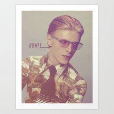 Bowie 03 Art Print