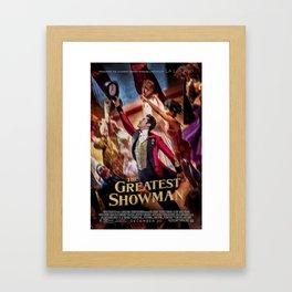 The Greatest Show Magic Framed Art Print