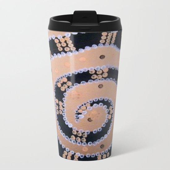 Snake Metal Travel Mug