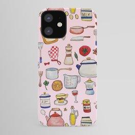 Watercolor Kitchen Utensils iPhone Case