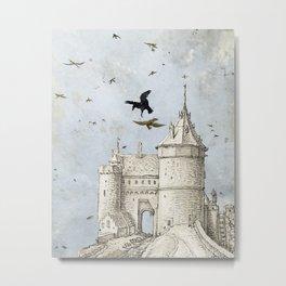 Castles in the Air Metal Print