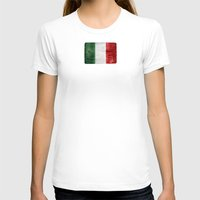 italy T-shirts featuring Italy by Arken25
