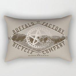 BUFFALO FACTORY Bicycle Company  Rectangular Pillow
