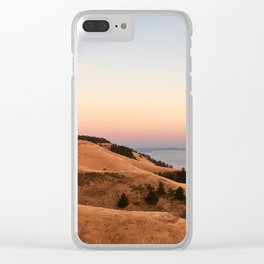 Untitled Sunset #1 Clear iPhone Case