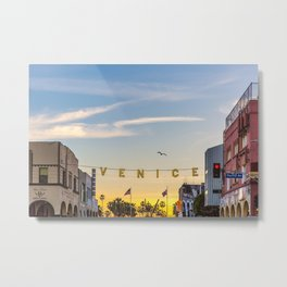 VENICE BEACH FEB 2017 Metal Print