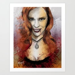 Oh My Jessica - True Blood Art Print