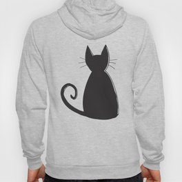Cat Silhouette Hoody