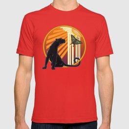 Jaguar Plain Art Deco T-shirt