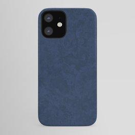 Marble Granite - Deep Royal Blue iPhone Case