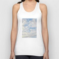 clouds Tank Tops featuring Clouds by lillianhibiscus
