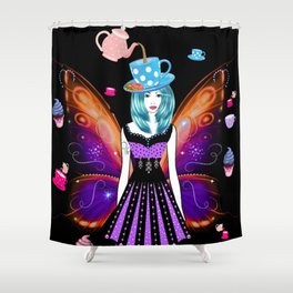 The TeaTime Fairy Shower Curtain