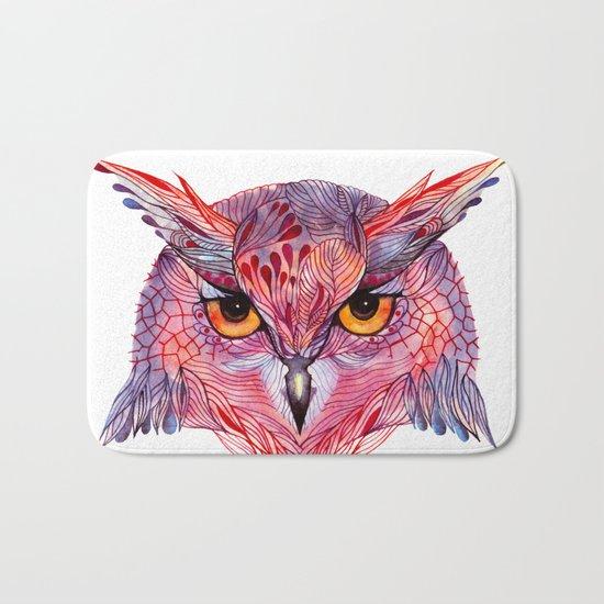 Owla owl Bath Mat