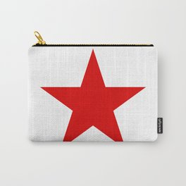 Red Star Art Print Carry-All Pouch