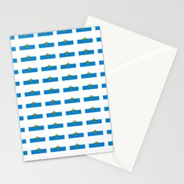 flag of san marino -Sammarinese, Dogana,Serravalle,italian,italy,microstate,Mediterranean Stationery Cards