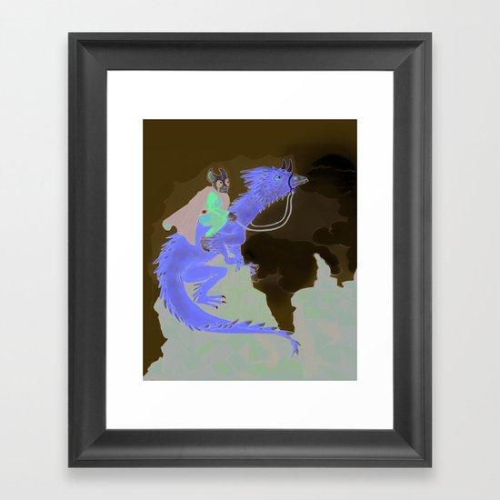 Fantasy Theme Framed Art Print