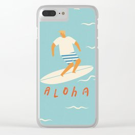 Aloha Clear iPhone Case