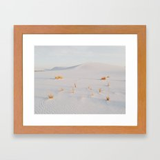 White Sands National Monument Framed Art Print