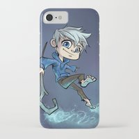 jack daniels iPhone & iPod Cases featuring Jack by Meekobits