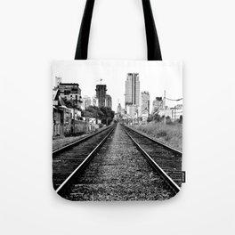 Road to progress Tote Bag
