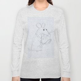 Mouse Scientist  Long Sleeve T-shirt