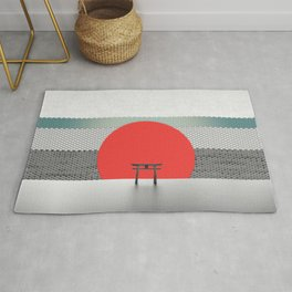The Red Sun Rug