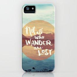 Wander II iPhone Case