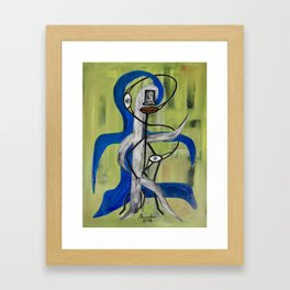 The Happy Soul Framed Art Print