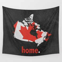 Canada Proud Wall Tapestry
